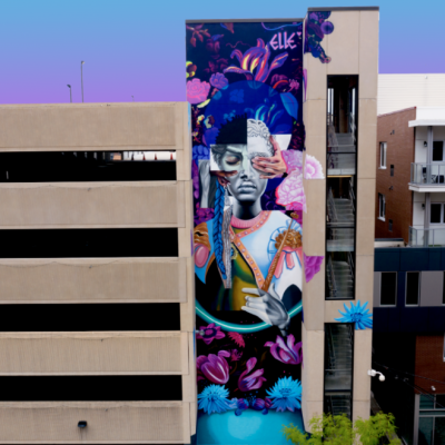Allentown Mural - 'Some Things Are Better Unseen (2019)'