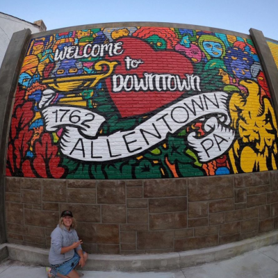 Allentown Mural - 'Welcome to Downtown Allentown (2020')