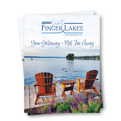 A 42 page full color magazine - Official Travel Guide - highlighting the Finger Lakes.