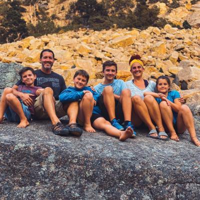 Crazy Family Adventure Photo