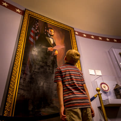 National Civil War Museum Abe Lincoln Painting