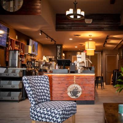 The Fix Coffee Shop Interior