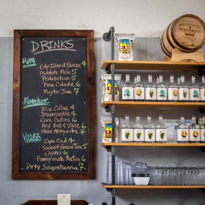 Midstate Distillery Drinks