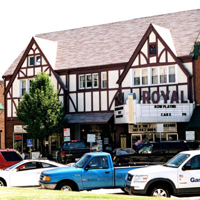 The Royal Theater in Downtown Danville
