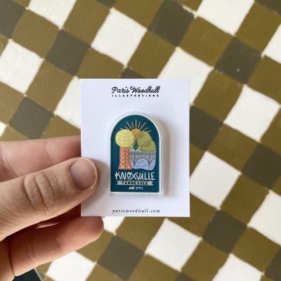 Paris Woodhull Pin