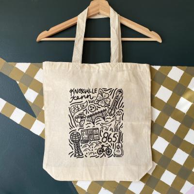 Paris Woodhull Tote Bag