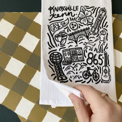 Paris Woodhull Tea Towel