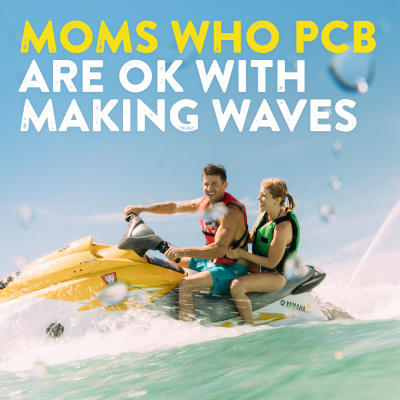 Moms who pcb are oka with making waves