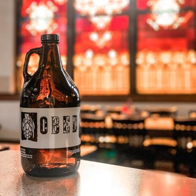 Growler from Obed & Isaac's