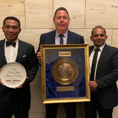 Firewater Grille wins 2019 Gold Plate Award in Steak House