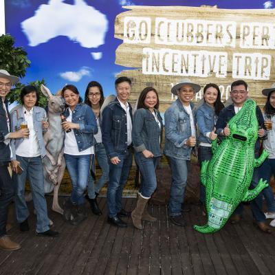 AIA Singapore Go Clubbers Perth incentive trip