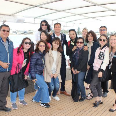 Taiwanese Delegates Explore WA on October Famil