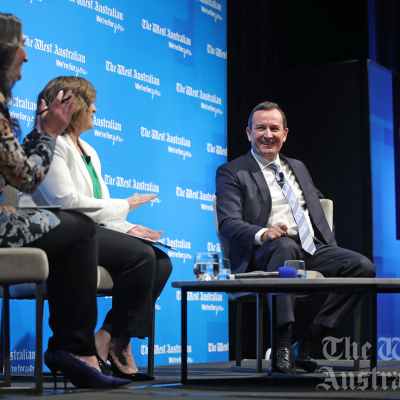 Premier Mark McGowan throws his support behind WA business events sector