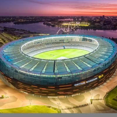 Optus Stadium Judged World's Most Beautiful Stadium in International Awards