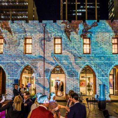 PAV Light Art Installation Event