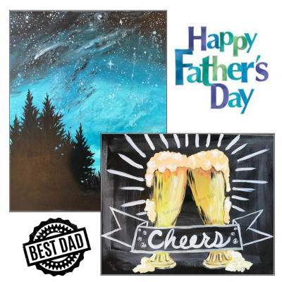 Paint and Sip Father's Day