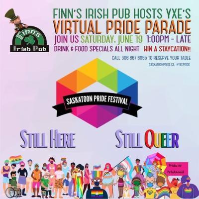 Finn's Pride Parade viewing