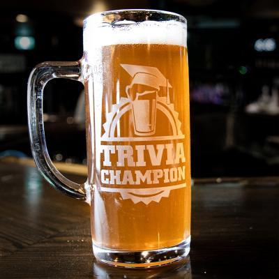 Thirsty Scholar Trivia mug