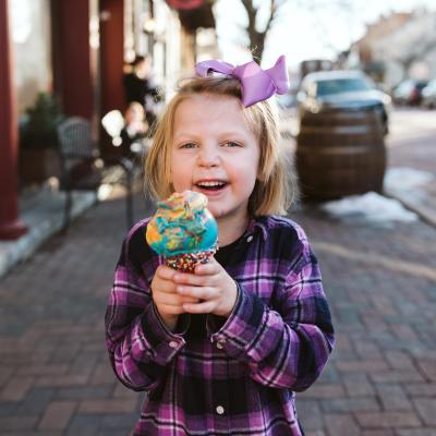 Ice Cream Riverside Sweets Family