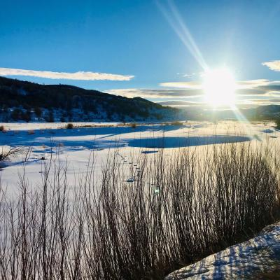 Visit Stagecoach State Park in the Winter