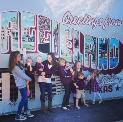 Greetings From Aggieland Mural
