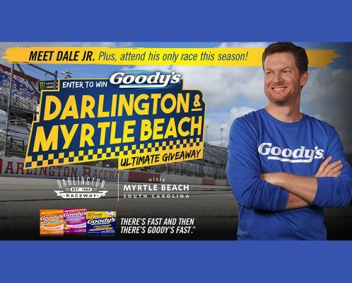Goody's® Darlington & Myrtle Beach Ultimate Giveaway
