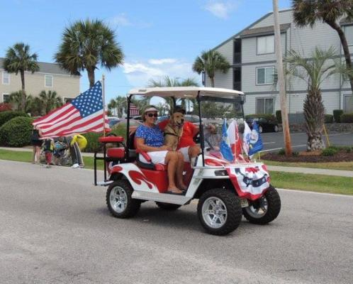 Memorial Day Golf Cart Parade