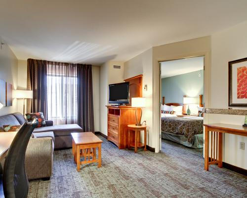 Inside of a suite room at Staybridge Suites-Middleton