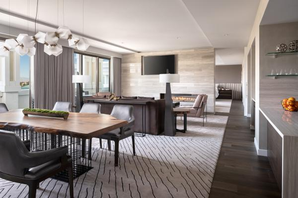 Presidential Suite at The Westin Anaheim Resort
