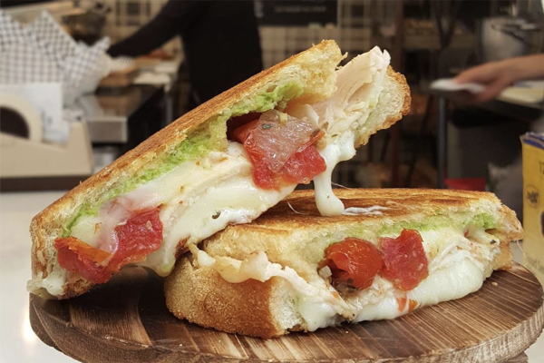 Black Sheep Grilled Cheese Bar at the Anaheim Packing House