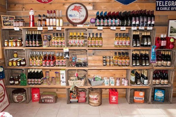 Apple Station Winery Interior