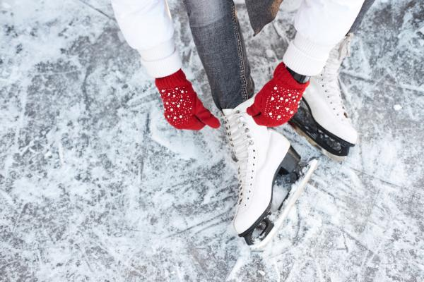 Ice Skating at Casey Park