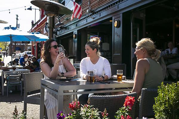 Cheers at The Carolina Brewery
