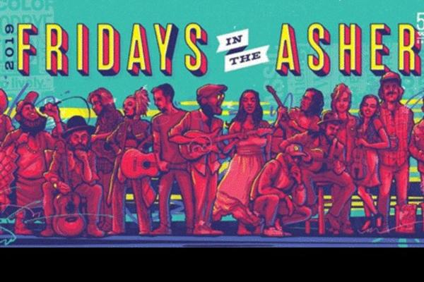 Fridays in the Asher 2019 Poster
