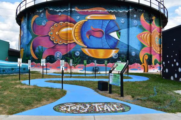NoCo Story Trail Entrance