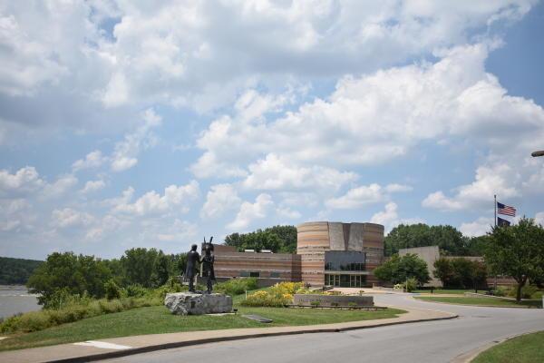 Exterior of the Falls of the Ohio Interpretive Center