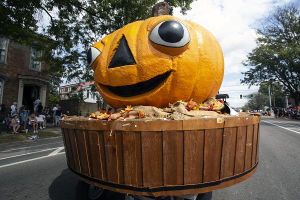 Harvest Homecoming Pumpkin Head