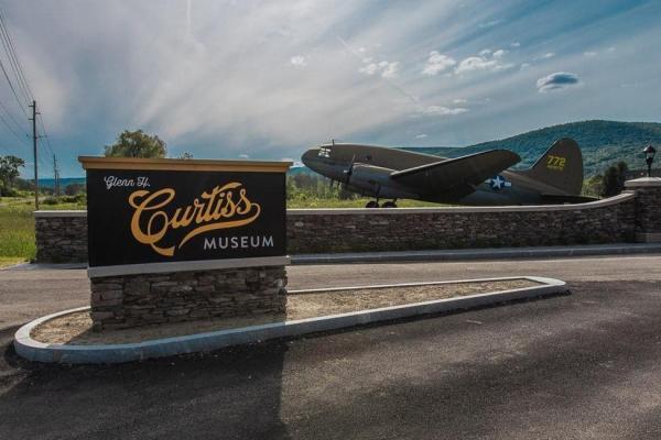 Curtiss Entrance Airplane