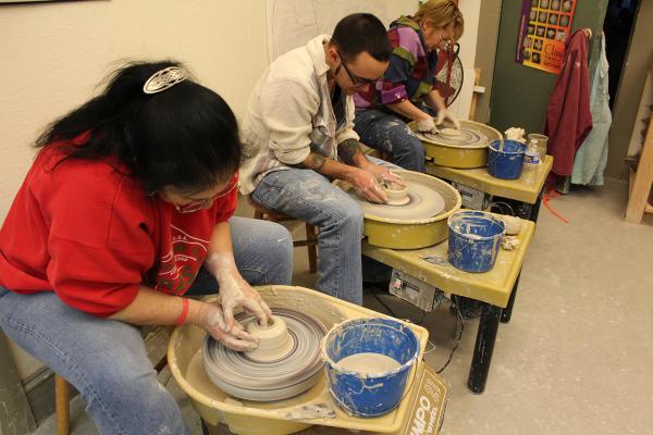 ceramics at 171 Cedar Arts