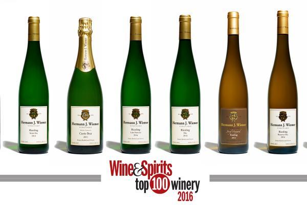 Hermann J Wiemer Vineyard Named Wine Spirits Magazine 2016 Top 100 Winery For 8th Year In A Row