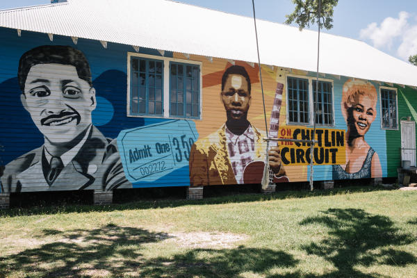 Bay St. Louis Public Art: 100 Men Hall Mural