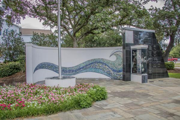 Biloxi Public Art: Katrina Memorial