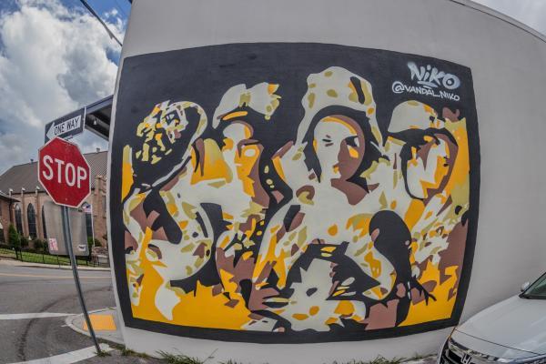 Biloxi Public Art: Casquette Girls