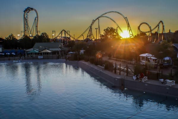 Hersheypark Sunset Picture