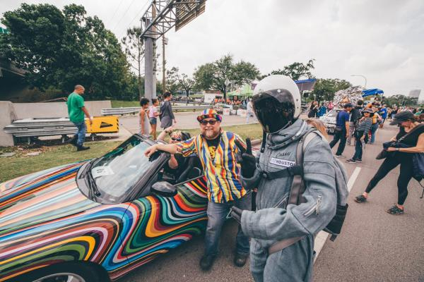 Spacey Casey At Art Car 2019