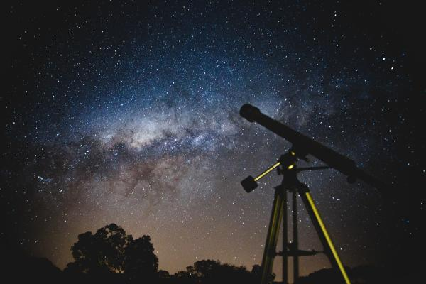 Telescope with constellations