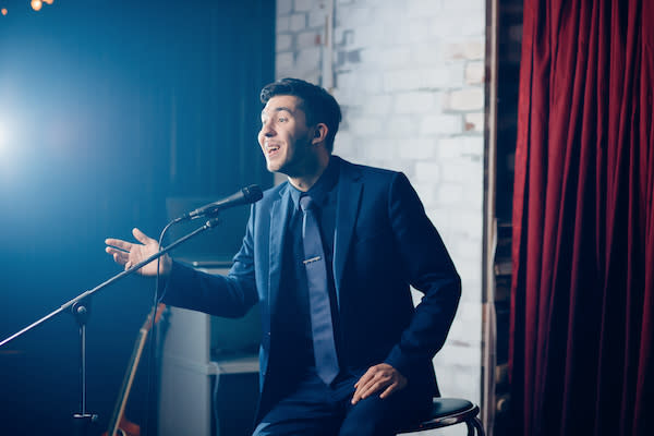 Adobe Stock image - Comedian Performing