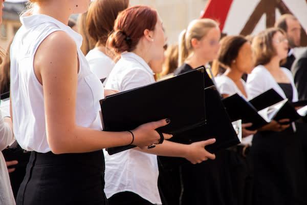 Adobe Stock image - Choir Singing