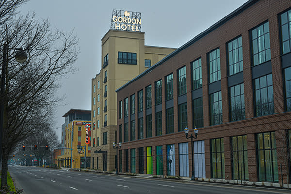 Gordon Hotel Rooftop Sign