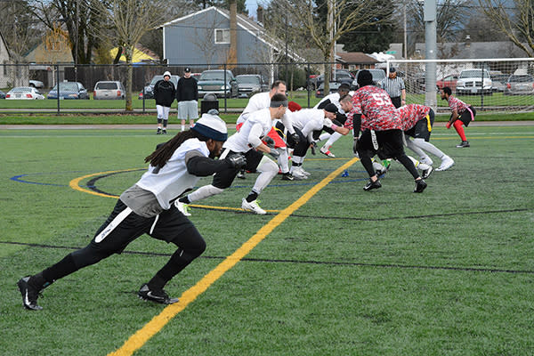 NW Flag Football Championships by Colin Morton
